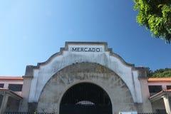 梅尔卡多蓬特德乌梅,加利西亚 免版税库存照片