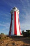 梅尔塞虚张声势灯塔,塔斯马尼亚岛,澳大利亚 免版税库存照片