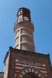 梅尔济丰,阿马西亚尖沙咀钟楼。 免版税库存照片