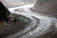 梅尔de Glace -法国阿尔卑斯 库存图片
