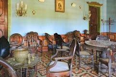 梅尼士Braganza佩雷拉议院在果阿,印度 免版税库存照片