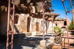 梅德宁(突尼斯) :传统Ksour (巴巴里人被加强的粮仓 免版税图库摄影
