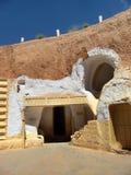 梅德宁(突尼斯) :传统Ksour 免版税库存图片