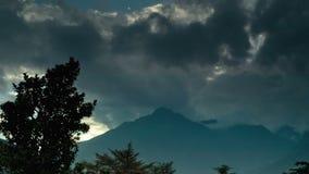 梅拉诺云彩时间间隔 影视素材