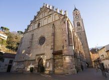 梅拉诺教会 库存图片