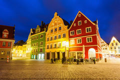 梅明根老镇,德国 库存图片