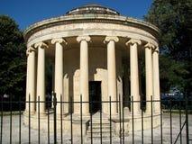 梅特兰纪念碑在科孚岛镇 免版税库存照片