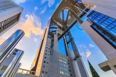 梅田天空大厦在大阪 免版税库存照片