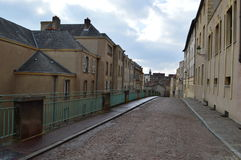 梅茨在法国 库存照片