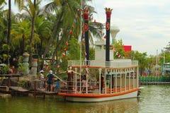 梦想世界游乐园,曼谷,泰国 免版税库存照片