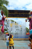 梦想世界游乐园,曼谷,泰国 免版税库存图片