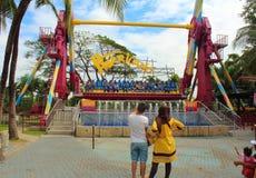 梦想世界游乐园,曼谷,泰国 图库摄影