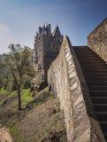 梦想城堡Eltz 免版税库存照片