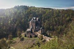 梦想城堡Eltz 免版税库存图片