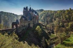 梦想城堡Eltz 库存照片