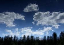 梦想天空 库存照片