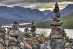 梦想岩石在苏格兰 免版税库存照片