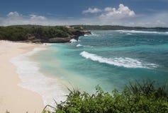 梦想海滩巴厘岛 库存图片