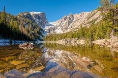 梦想湖,落矶山,科罗拉多,美国 库存照片