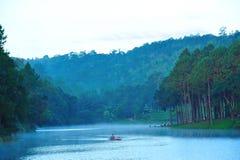 梦想湖 库存图片