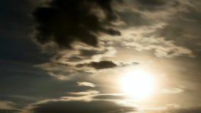 梦想的夏天日落的定期流逝 影视素材