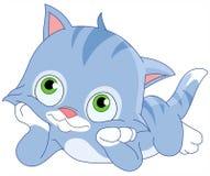 梦想的小猫 向量例证