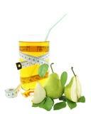 梨汁和米 免版税库存照片