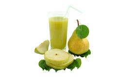 梨汁 库存图片
