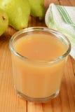 梨汁 库存照片
