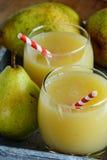梨汁 免版税库存图片
