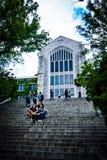 梨花女子大学-私有妇女` s大学在汉城 图库摄影