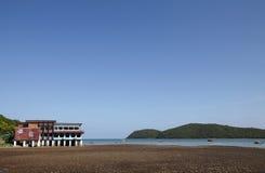 梭桃邑海滩 免版税图库摄影