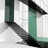 梯子办公室 免版税库存图片