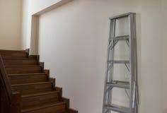 梯子和台阶 库存照片