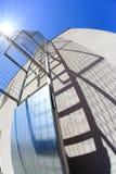 梯子和它的阴影 库存照片