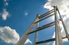 梯子成功 图库摄影