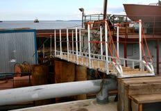 梯子海运转移运输 免版税库存照片