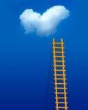梯子爱 向量例证