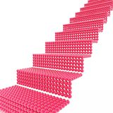 梯子红色 图库摄影