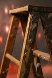 梯子绘画 免版税图库摄影