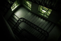梯子视窗 库存照片