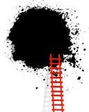 梯子 库存例证