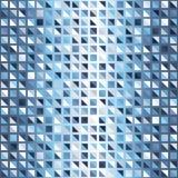 梯度三角背景 无缝的传染媒介发光的样式 库存图片