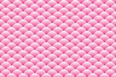 梯度桃红色卵形被堆积的样式 免版税库存图片