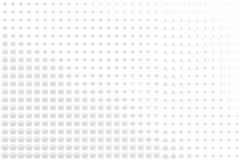 梯度白色和灰色圆的小点抽象七高八低的表面纹理  向量例证, EPS10 库存例证