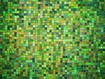 梯度蓝色和绿色色的锦砖 免版税库存照片