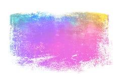 梯度颜色纸纹理 免版税库存图片