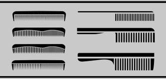 梳子 库存例证