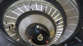 梵蒂冈内部台阶 库存图片