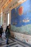 梵蒂冈博物馆和西斯廷教堂 免版税库存图片